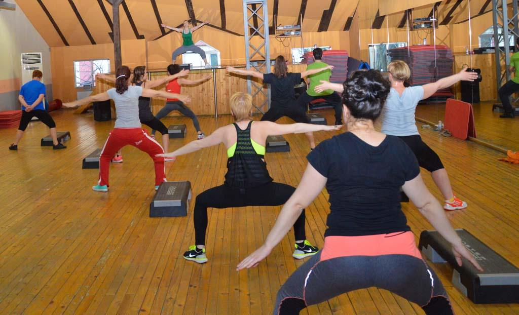 Tae-bo тренировка в Тотал Спорт