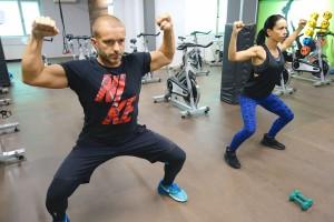HIIT тренировка с Мария и Пламен - Total Sport Fitness & Squash, Пловдив