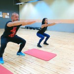 Tabata тренировка с Мария и Пламен в Тотал Спорт, Пловдив