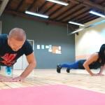 Тренировка по Tabata с Мария и Пламен
