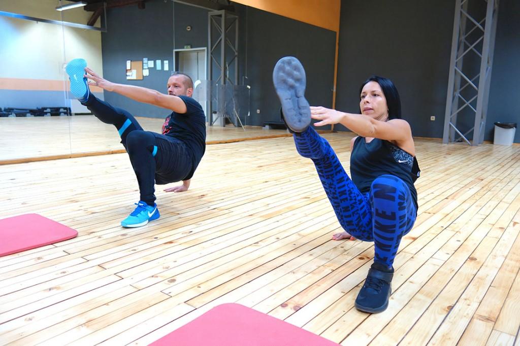 Tabata в Тотал спорт, инструктори Пламен и Мария Петрови