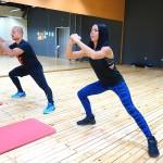 Табата с Пламен и Мария в Тотал Спорт клуб, Пловдив