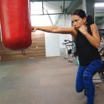 Упражнение от Tapout XT тренировката с Мария