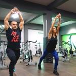 Тотал Спорт фитнес и скуош - Tapout XT тренировка с Мария и Пламен Петрови