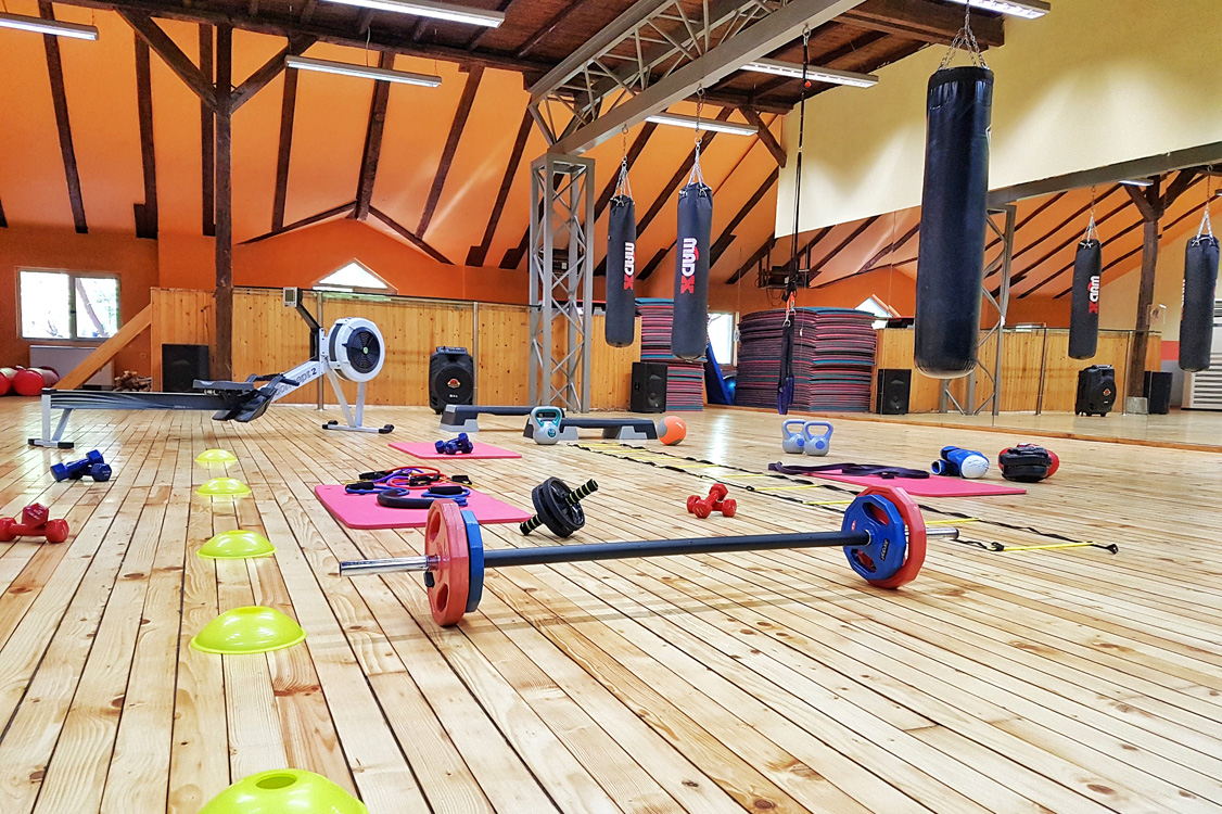Обновената зала за функционални трениворки в Тотал спорт