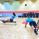 Тренирвки по HIIT, Tabata, Tapout XT, TRX с Пламен и Мария, Тотал Спорт