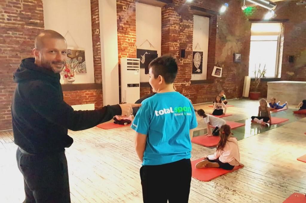 Тотал Спорт - програма Кондиционни тренировки за деца