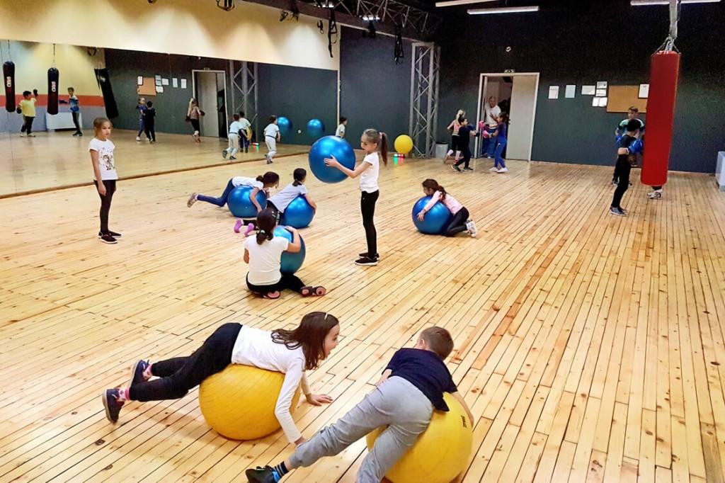 Кондиционни тренироеки за деца в Total Sport Fitness & Squash