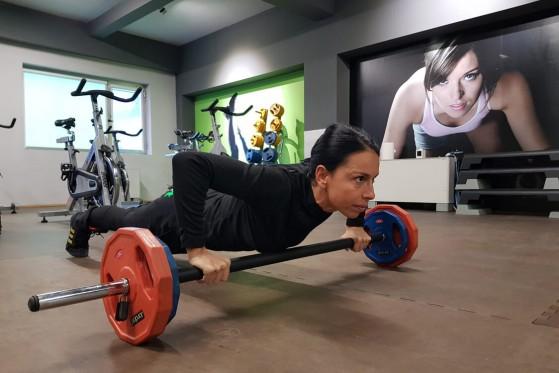 Тренировка Body Shape & Fit със свободни тежести, Total Sport