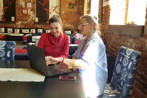 По време на консултация с диетолог Невена Трифонова в Тотал Спорт