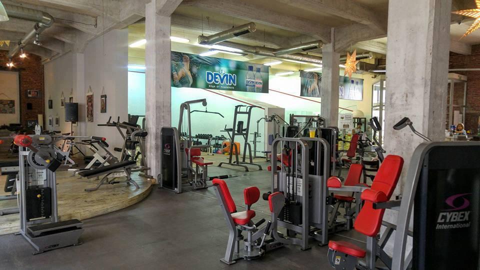 Зала за фитнес преди пожара - Тотал спорт